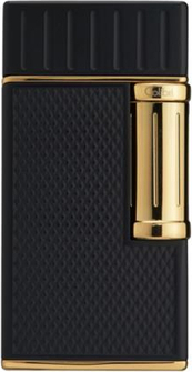 Gold Twist Colibri Lighter